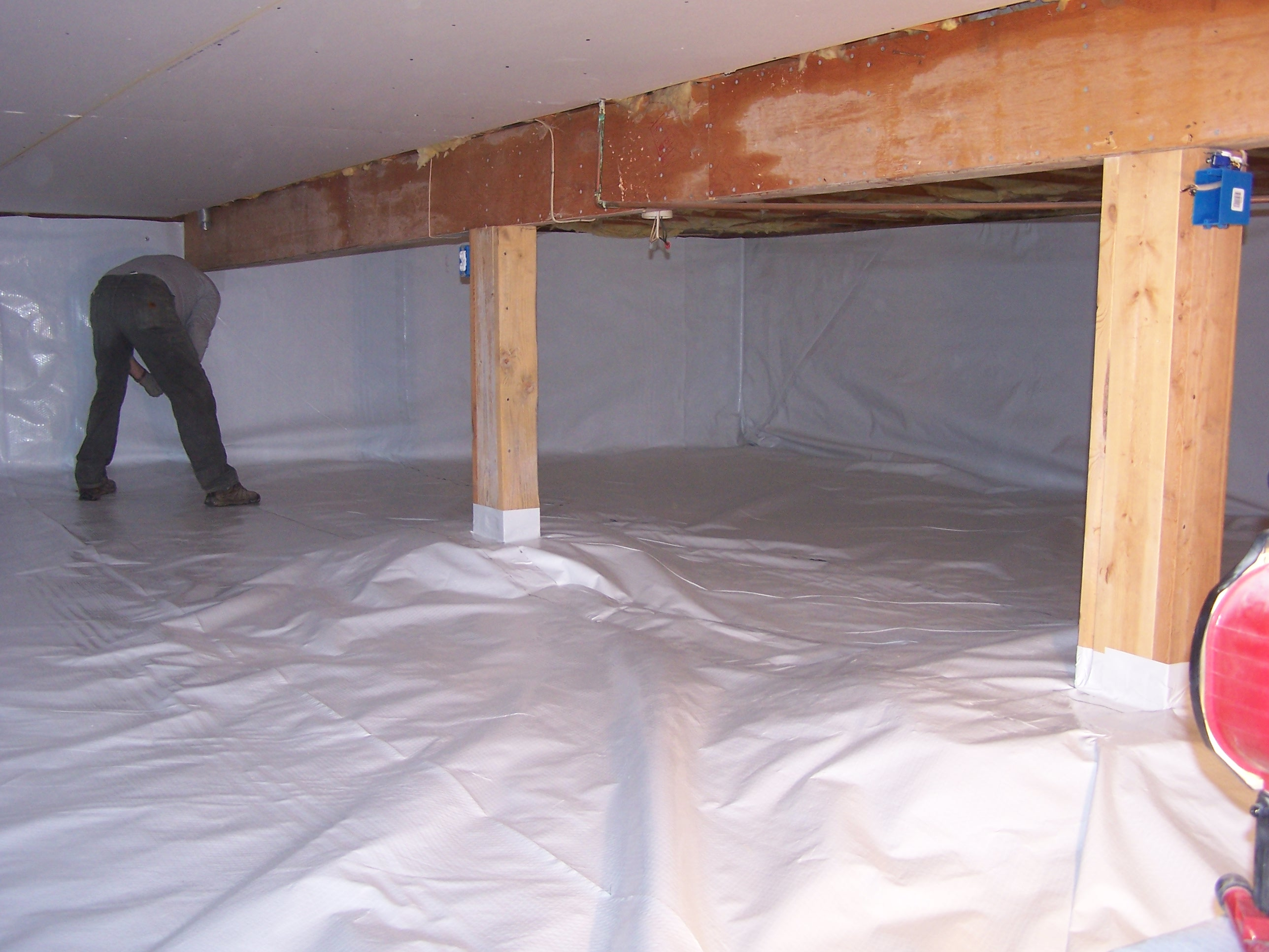 When Combined With A MBS Drain Or Sump System, Your Crawlspace Can Be  Turned Into A Safe And Clean Environment For Storage, In Addition To  Promoting More ...